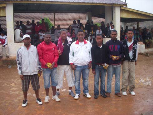 Pétanque – Grand Open d'Ambohimahasoa : Les vice-champions du monde juniors en démonstration !