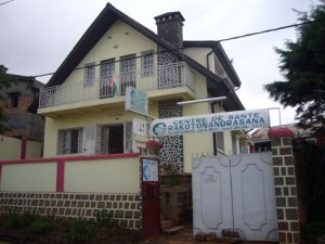 Le Centre de Santé Rakotonandrasana Analamahintsy.