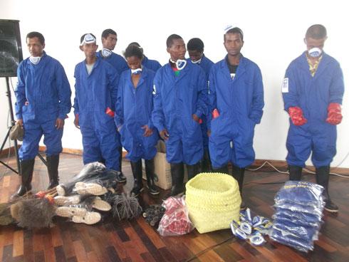 CUA : Le PNUD contribue dans l'assainissement de la ville