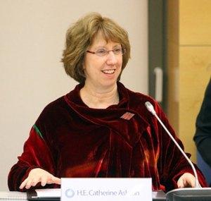 Catherine Ashton invite toutes les parties prenantes au processus électoral à la retenue.