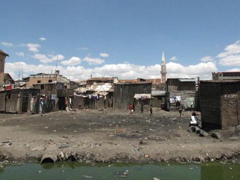 Formation de bidonvilles : Madagascar concerné par l'alerte la plus élevée