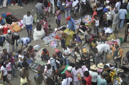 A l'approche des fêtes : Explosion du marché informel