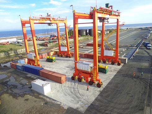 Nouveaux équipements au terminal a conteneurs de toamasina