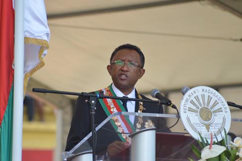 Hery Rajaonarimampianina : « Créer un Madagascar de l'excellence »