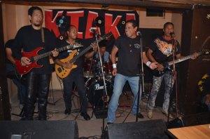 Kiaka était entouré de ses fidèles musiciens.