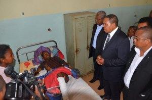 : Roland Ratsiraka condamne cet acte de barbarie contre des civils innocents. (Photo : Yvon Ram)