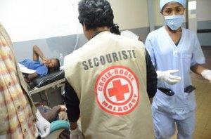 Les volontaires de la CRM sont toujours présents lors des situations d'urgence.