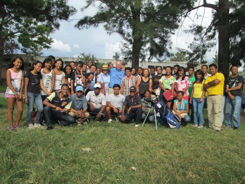 Golf – Fédération : Les étudiants de l'INTH initiés au golf