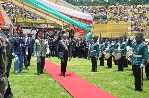 Hery Rajaonarimampianina : « Aucun problème avec les Chefs militaires »