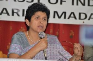 L'Ambassadeur de l'Inde, Mme Manju Seth ne ménage pas ses efforts pour promouvoir les relations d'affaires entre les deux pays. (Photo : Nary Ravonjy)