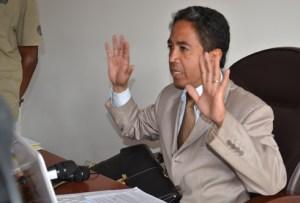 Rohy Rasoamaromaka, le nouveau Directeur du SAMVA.
