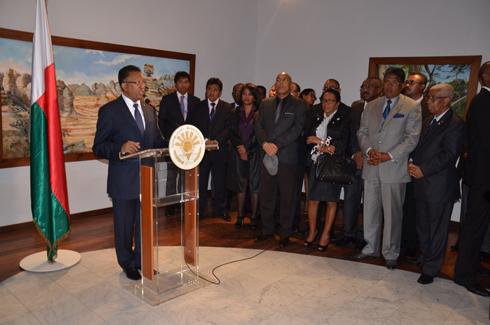 Proposition de Premier ministre : Hery Rajaonarimampianina dément la déclaration du MAPAR