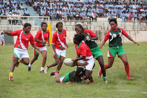 Rugby au Kenya : La 6e place pour nos dames