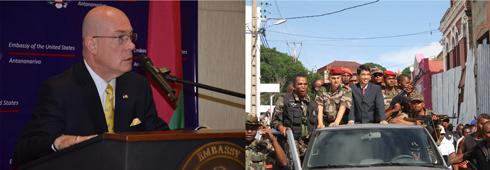 Les Etats-Unis mettent la pression : « Tous les participants au coup d'Etat à exclure du gouvernement, » dixit Robert Jackson