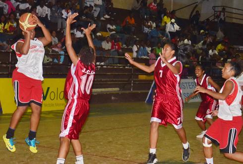Basket-ball – Tournoi International : La JCSA corrige les Réunionnaises