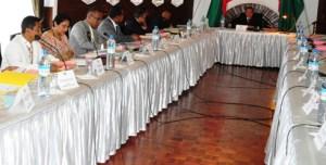 Après le ratage de la semaine dernière, le Conseil des Ministres s'est tenu un jeudi cette fois-ci.