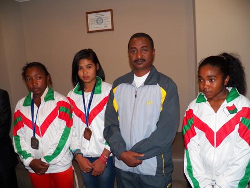 Jeux Africains de la Jeunesse : Les médaillés primés