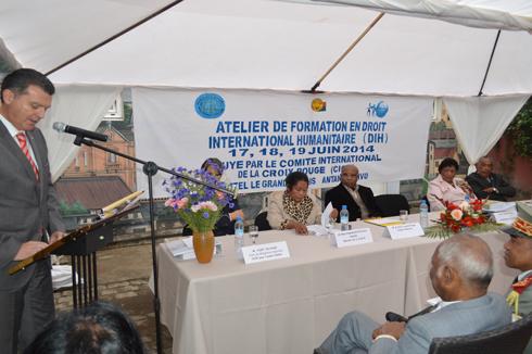 CONADIH : Un atelier de trois jours en Droit international Humanitaire