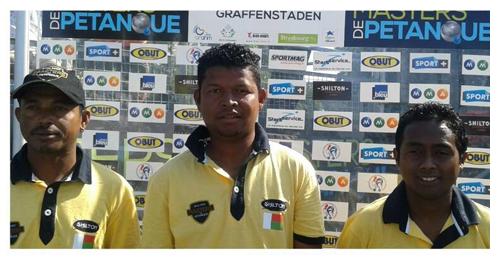 Pétanque Masters : Madagascar échoue en finale !