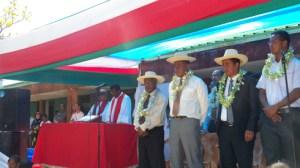 Les autorités sont venues en masse pour honorer de leur présence la cérémonie de lancement officiel du sport pour tous.