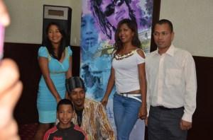 Les cinq acteurs principaux du film « Dzaomalaza et les mille soucis ».