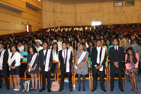 INTH : 380  étudiants diplômés