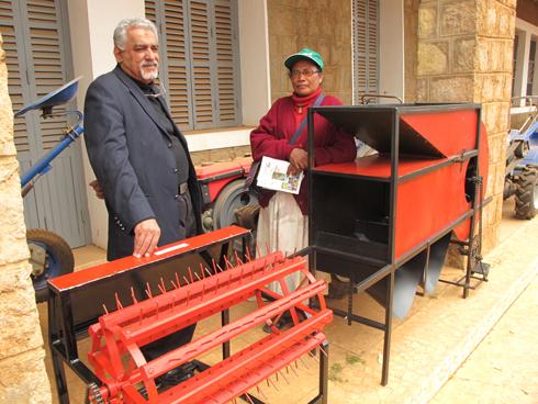 PAPRiz :   Des petits matériels agricoles pour les gagnants de la Tombola