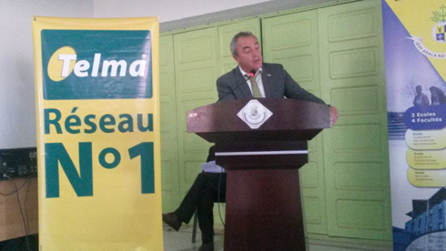 Partenariat : « Le développement du pays est basé sur l'éducation des jeunes », souligne Patrick Pisal Hamida, l'ADG du groupe Telma