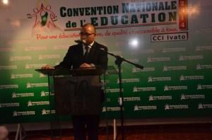 Le ministre Paul Rabary lors du lancement de la convention hier, à l'hôtel Colbert. (Photo Yvon)