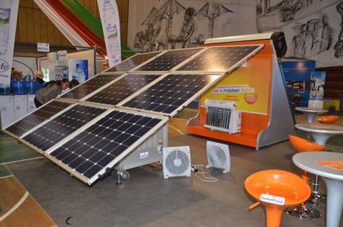 SolarProd : L'énergie solaire, mise en avant au SIM 2014