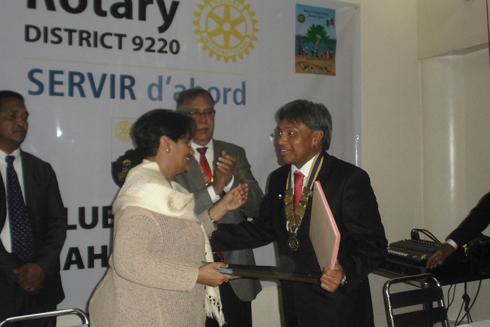 Adduction d'eau : Le Rotary appuie la construction d'une soixantaine de puits
