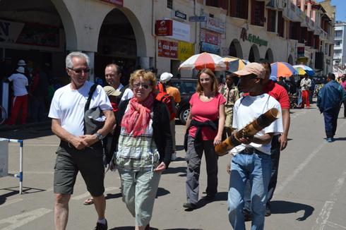 ORTANA : Une affluence  des touristes européens