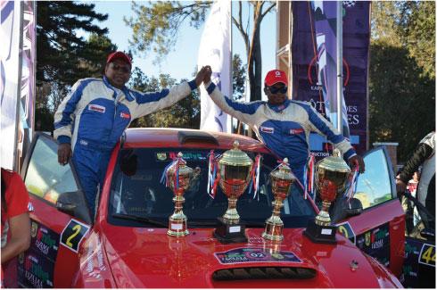 Rallye ASA TANA – Sodirex : Olivier et Haingo de bout en bout !
