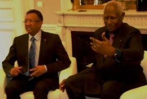 Après Paris, le président Hery Rajaonarimampianina rencontrera pour la seconde et dernière fois le SG de l'OIF Abdou Diouf.