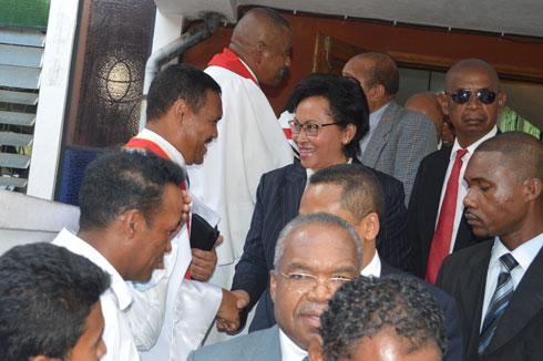 Culte de réconciliation : Zafy, Deba et Lalao présents, Rajoelina et Hery R. absents