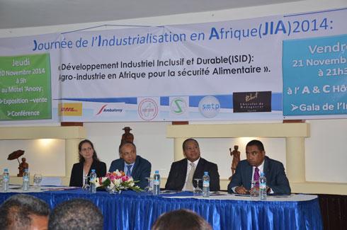 Journée de l'Industrialisation de l'Afrique : « Il faut prioriser  l'agro-industrie », Selon le ministre de l'Industrie, Jules Etienne