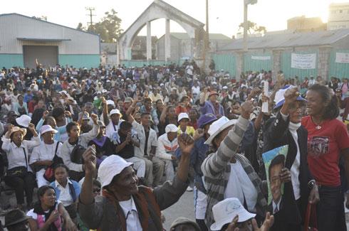 Magro Behoririka : Forte mobilisation