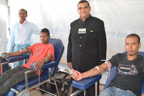 GMUR : Appel aux citoyens pour un don de sang