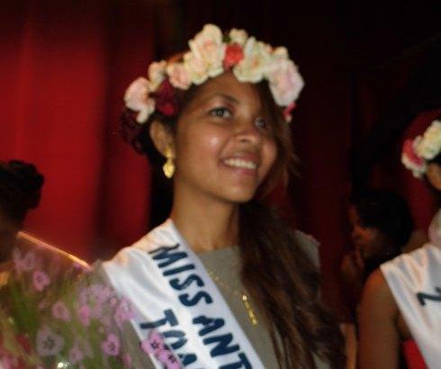 Miss Madagascar : Razafinarison Monica Daniella  reprèsente la région Atsinanana