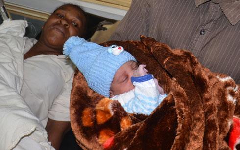 Emmanuel Christiano Ravalison : Premier bébé né le 25 décembre !