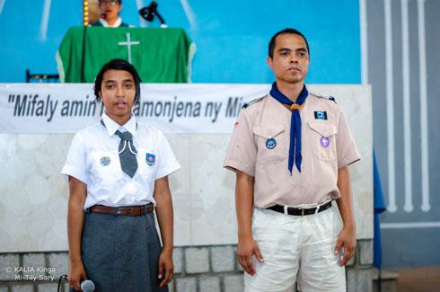 Scoutisme FJKM : Investiture des nouveaux dirigeants du district Analamanga-Ouest