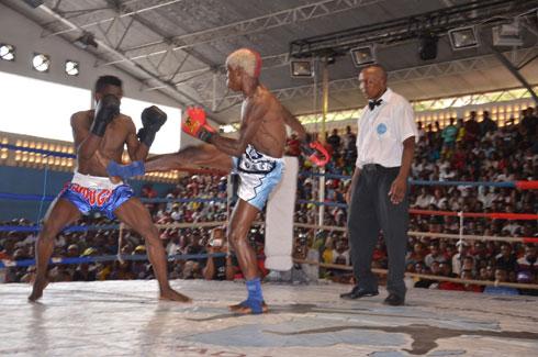 Kick-boxing: le combat de grand défi clôturera la saison