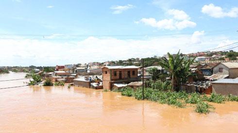 Montée des eaux : Antananarivo, en alerte jaune