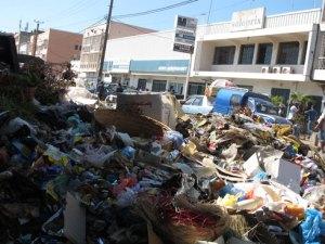 Problème récurrent à Antananarivo, l'amoncellement des ordures est observé partout à la  moindre perturbation au niveau du financement et des équipements roulants.