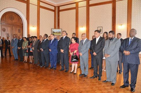 Présidence et gouvernement : Présentation de vœux au chef de l'Etat hier à Iavoloha
