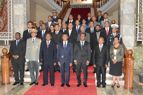 25 janvier 2015 : Gouvernement au lieu de la HCJ