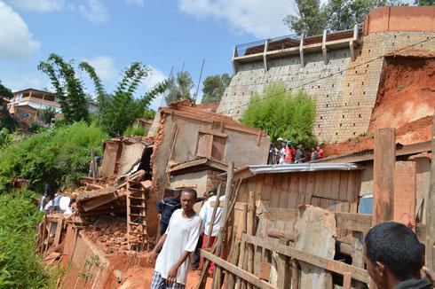 Antananarivo : Risque d'éboulement et danger imminent