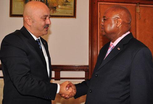 Mahazoarivo : L'ambassadeur de la Turquie chez le PM