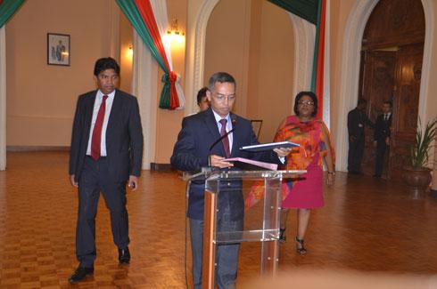 Gouvernement : Le Gal Jean Ravelonarivo, nouveau Premier ministre