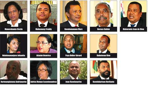 Députés PMP à Ambohitsorohitra : Les noms des 13 « Premier ministrables »